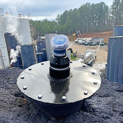 Waste Oil Reclamation Tank Radar Liquid Level Transmitter