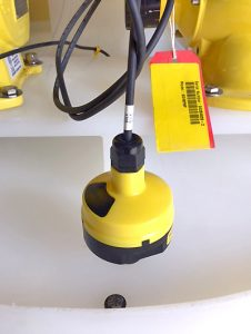 Polymer Chemical Feed Tank Liquid Level Sensor