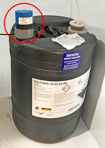 pH Neutralization Skid Tank Liquid Level Transmitter
