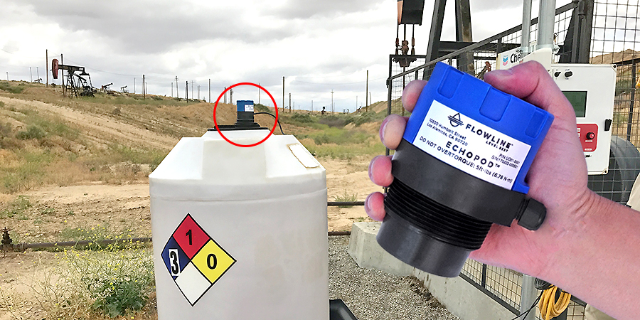 Corrosive Oil Field Chemical Liquid Level Sensor