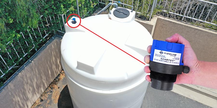 Sewer Pump Station Liquid Level Sensor