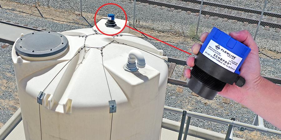 Lube Oil Transfer Tank Ultrasonic Level Measurement