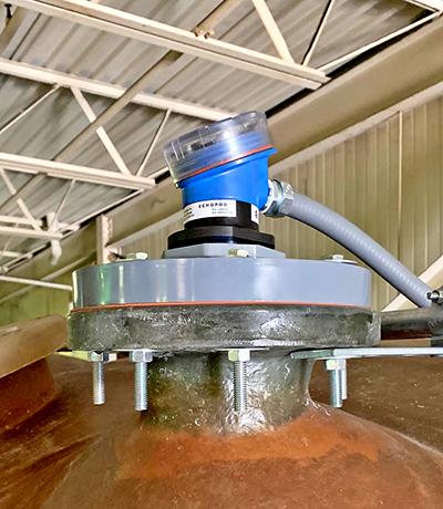 Chemical Bulk Storage Tank Liquid Level Transmitter