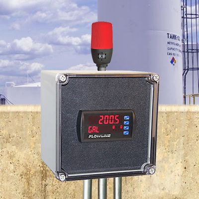 Sodium Hypochlorite Tank Ultrasonic Liquid Level Transmitter