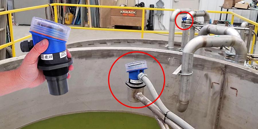 Condensing Wastewater Tank Liquid Level Sensor