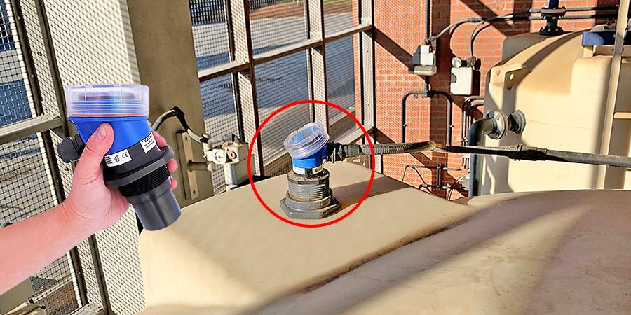 Sulfuric Acid Bulk Storage Tank Liquid Level Sensor