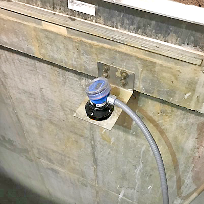 Reservoir Intake Wet Well Liquid Level Transmitter