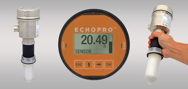 EchoPro<sup>®</sup> LR11 Radar Liquid Level Sensor Transmitter
