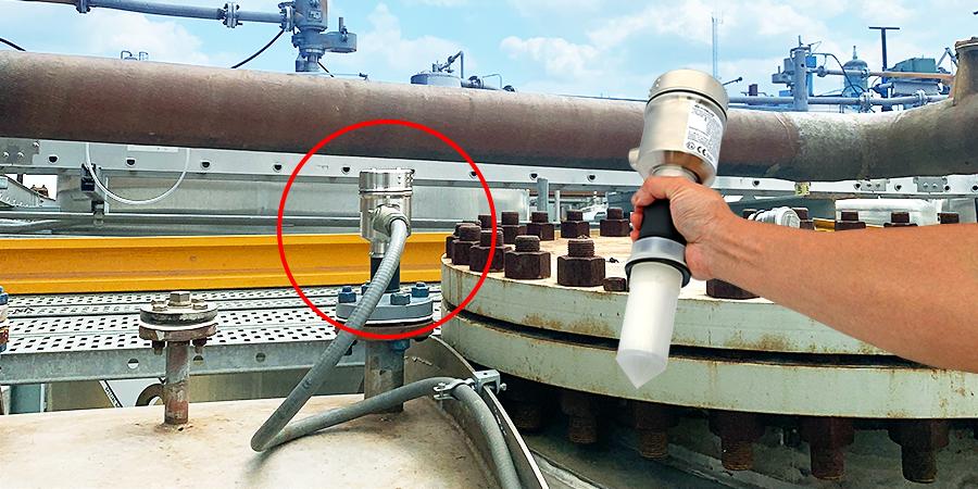 Petrochemical Reactor Wastewater Tank Liquid Level Sensor