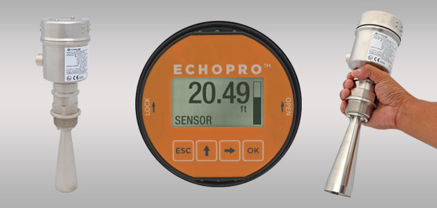 EchoPro<sup>®</sup> LR16 Radar Liquid Level Sensor Transmitter