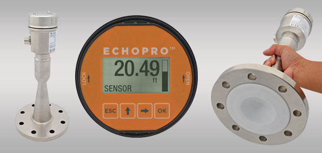 EchoPro<sup>®</sup> LR21 Radar Liquid Level Sensor Transmitter