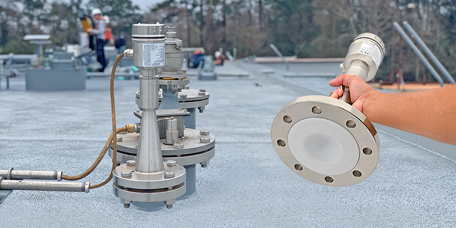 Barge Fuel and Lube Tank Liquid Level Sensor