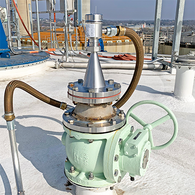 Foaming Digester Tank Liquid Level Transmitter