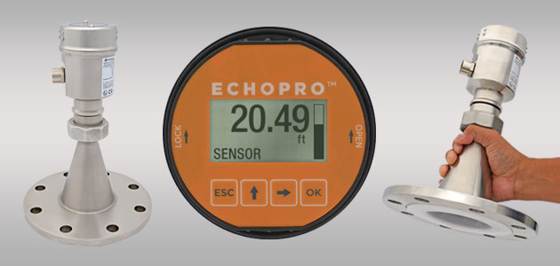 EchoPro<sup>®</sup> LR26 Radar Liquid Level Sensor Transmitter