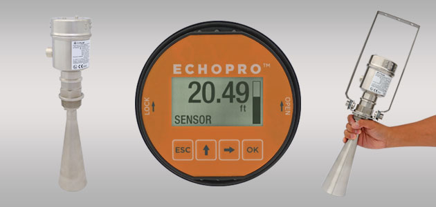 EchoPro<sup>®</sup> LR36 Radar Solids Level Sensor