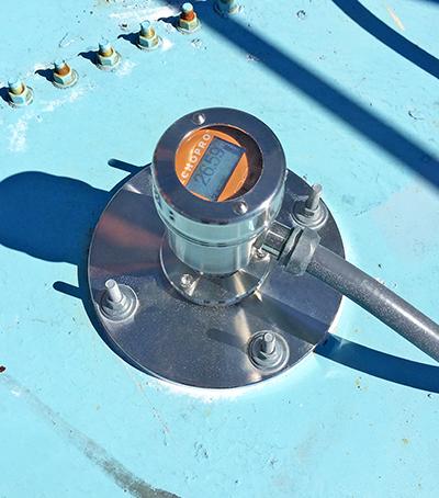 Resin Powder Silo Solids Level Sensor