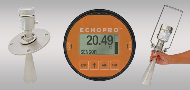 EchoPro<sup>®</sup> LR41 Radar Solids Level Sensor