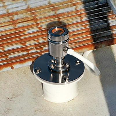 Plastic Pellet Storage Silo Radar Level Sensor