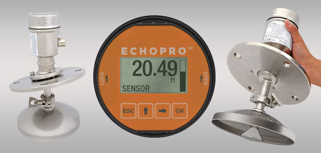 EchoPro<sup>®</sup> LR46 Radar Solids Level Sensor