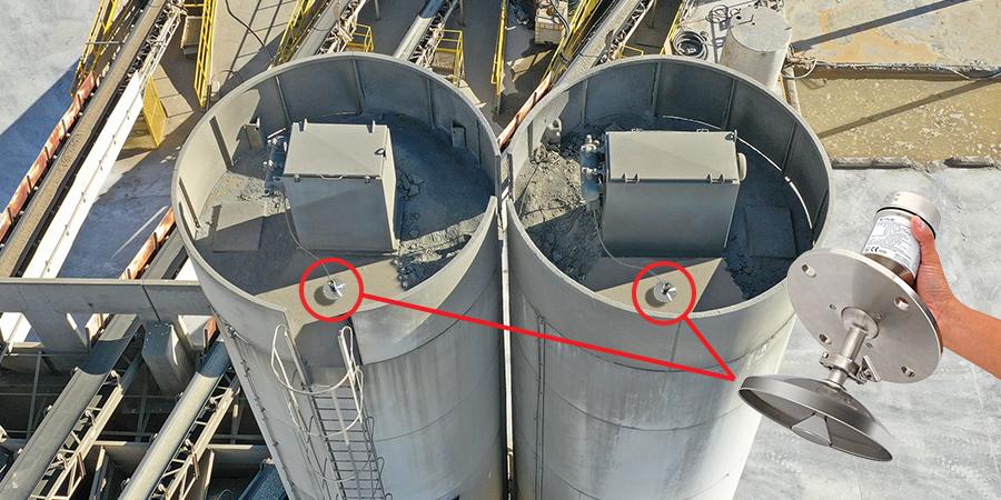 Concrete Batch Mix Plant Silo Radar Level Transmitter