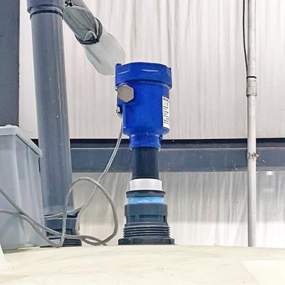Food Sanitizer Chemical Feed Tank Ultrasonic Liquid Level Transmitter