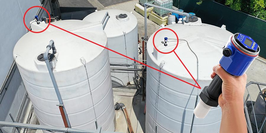Foamy Wastewater Bulk Tank Radar Liquid Level Sensor