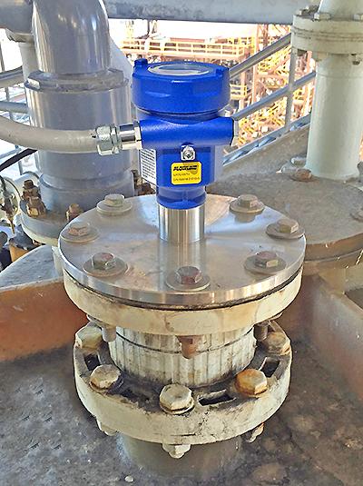 Soda Ash Slurry Mix Tank Liquid Level Sensor