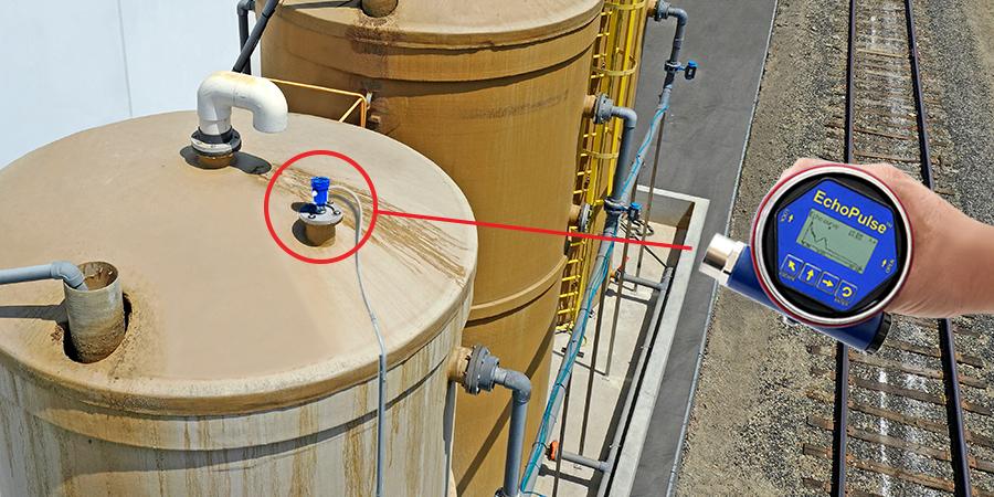 Wastewater Storage Tank Radar Level Transmitter