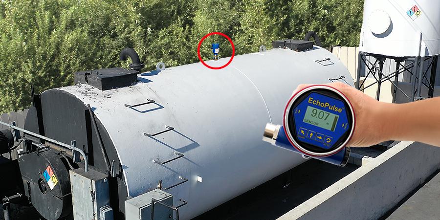 Asphalt Slurry Seal Tank Radar Level Transmitter