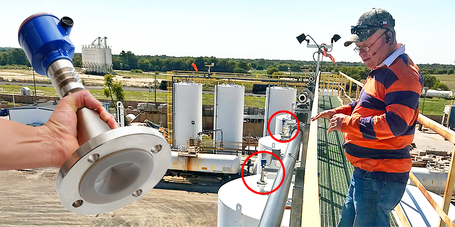 Reliable Municipal Canal Liquid Level Sensor