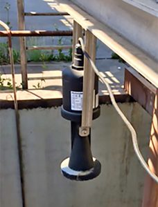 Stormwater Pump Lift Station Liquid Level Sensor