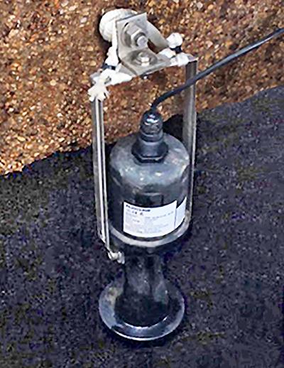 Stormwater Pump Lift Station Liquid Level Transmitter