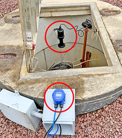 Sewer Pump Lift Station Liquid Level Sensor