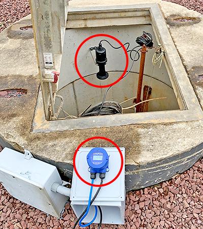 Sewer Pump Lift Station Liquid Level Sensor