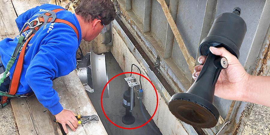 Industrial Pump Lift Station Liquid Level Sensor