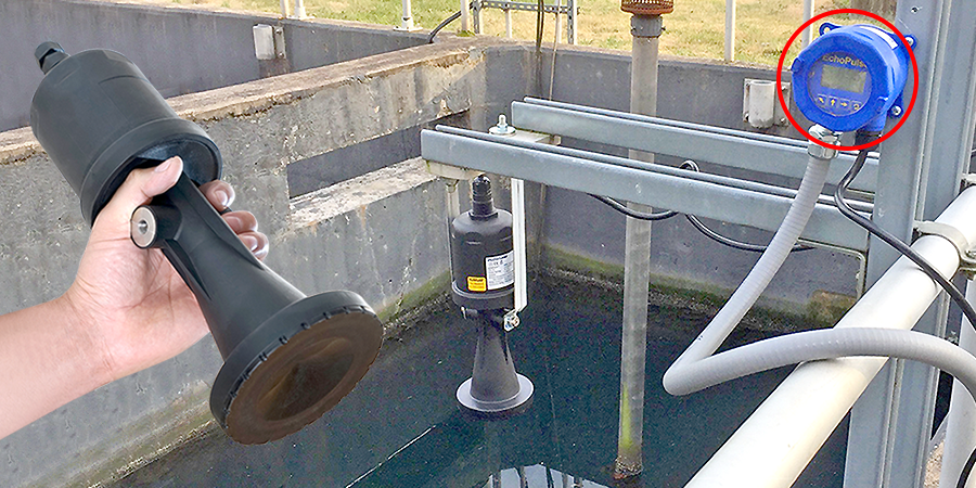Municipal Effluent Discharge Basin Liquid Level Sensor
