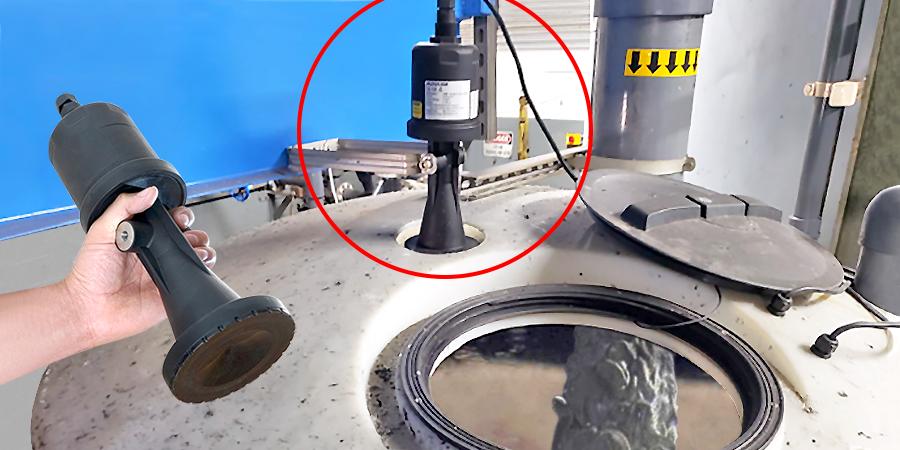 Foaming Concrete Wastewater Tank Liquid Level Sensor