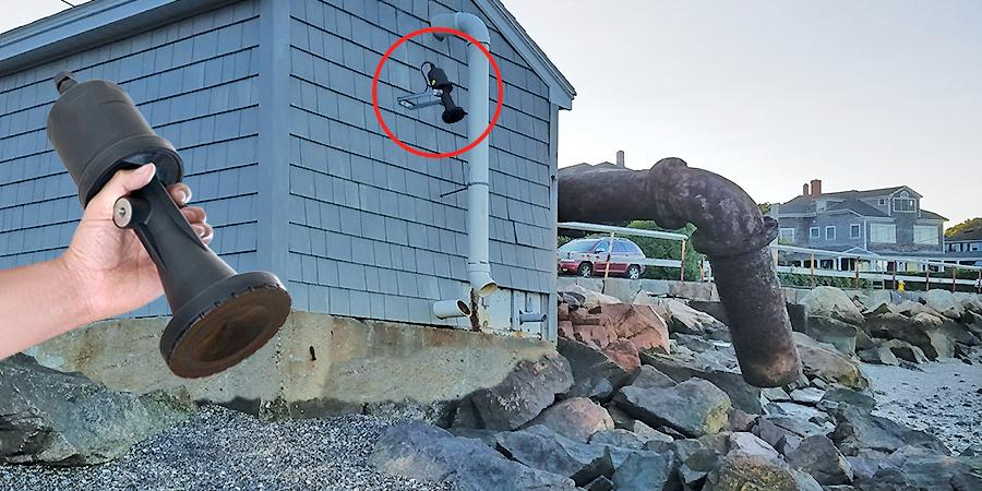 High Tide and Storm Surge Liquid Level Sensor