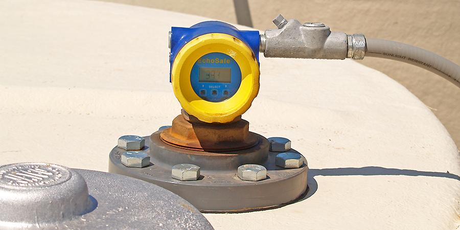 Fracking Brine Recovery Tank Liquid Level Sensor