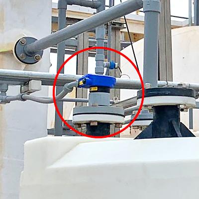 Hydrochloric Scrubber Tank Liquid Level Transmitter