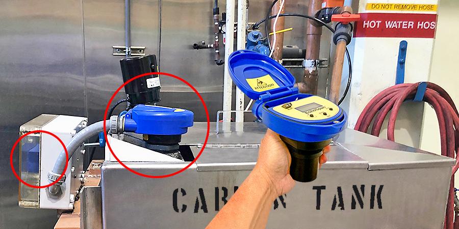 Carbon Powder Mix Tank Liquid Level Sensor