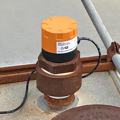 Fuel Distributor Bulk Tank Ultrasonic Liquid Level Transmitter