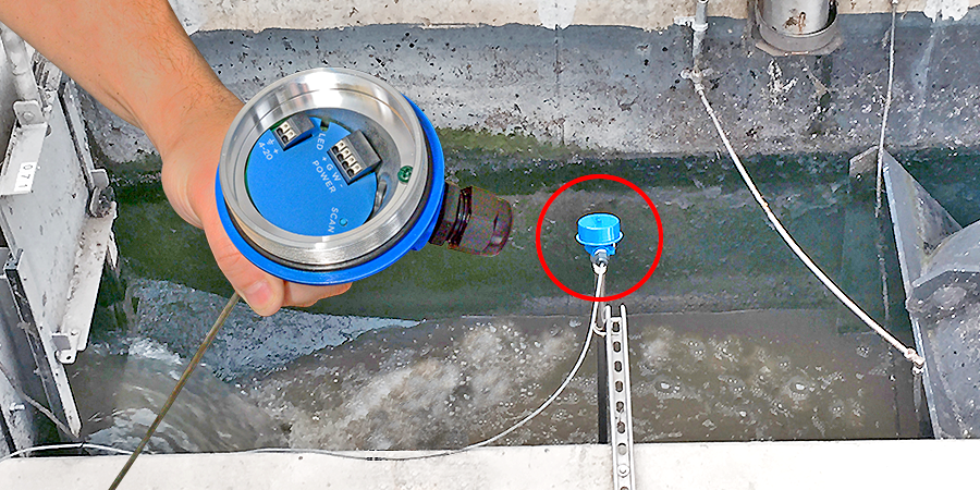 Wastewater Open Channel Liquid Flow Sensor