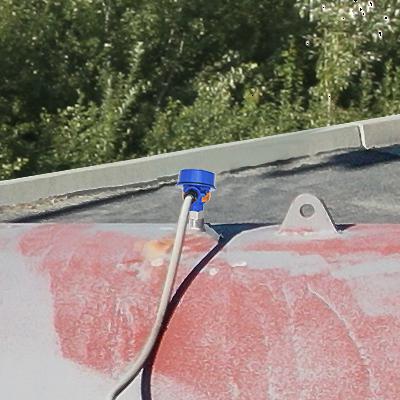 Diesel Generator Fuel Tank Guided Wave Liquid Level Transmitter