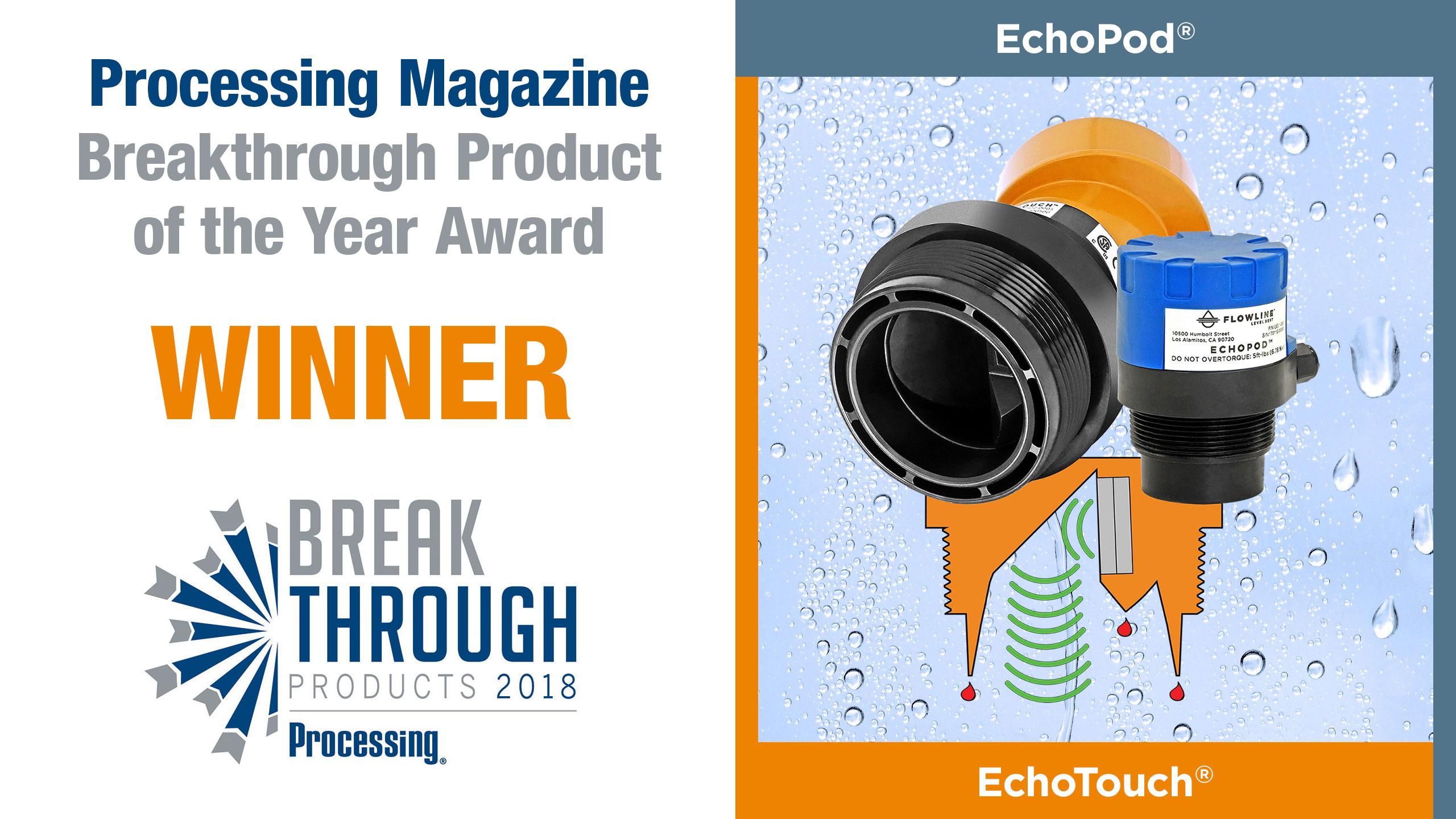 Breakthrough Product of the Year Award Winner