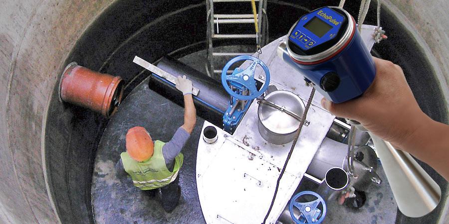 Above Grade Pump Station Liquid Level Sensor