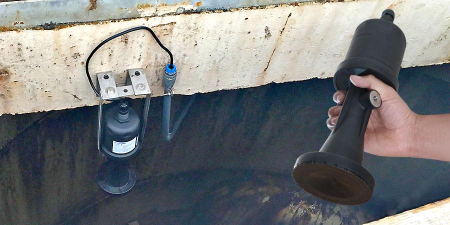 Wastewater Pump Station Liquid Level Sensor