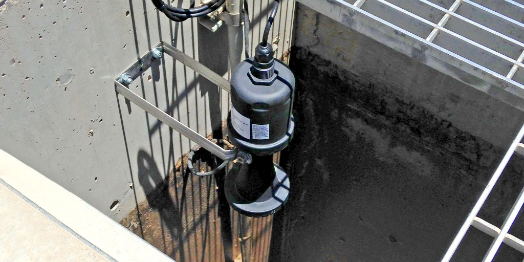 Stormwater Pump Station Radar Level Sensor
