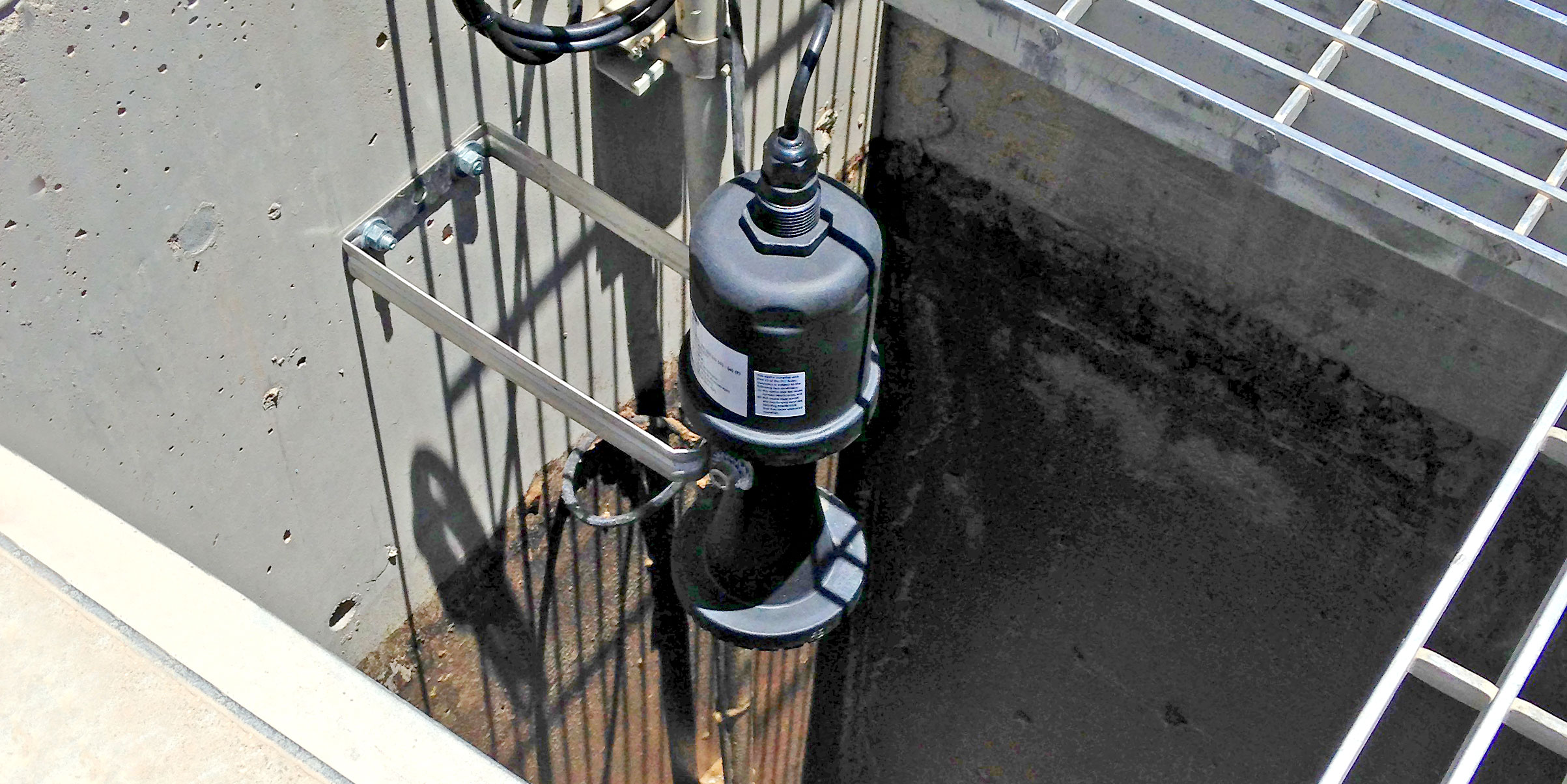 Stormwater Pump Station Radar Level Sensor
