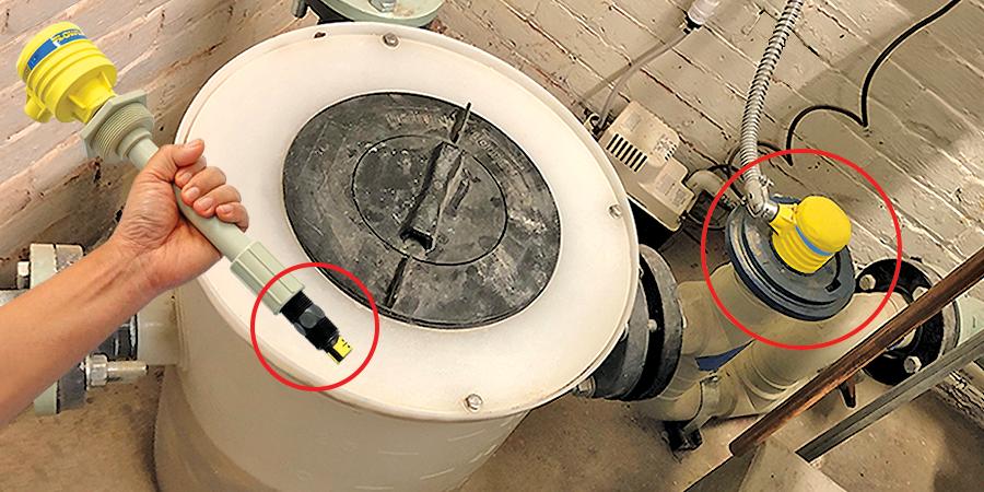 Neutralization Chip Tank Backflow Liquid Level Switch